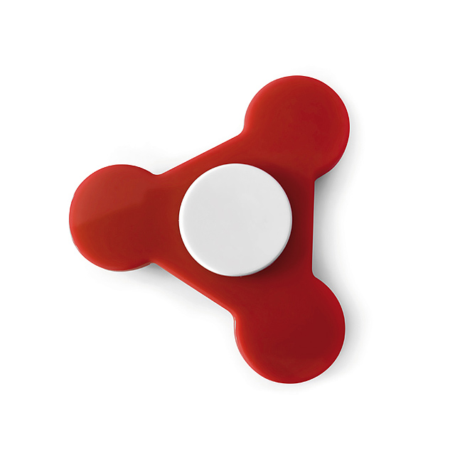 Plastic Spinner  - red