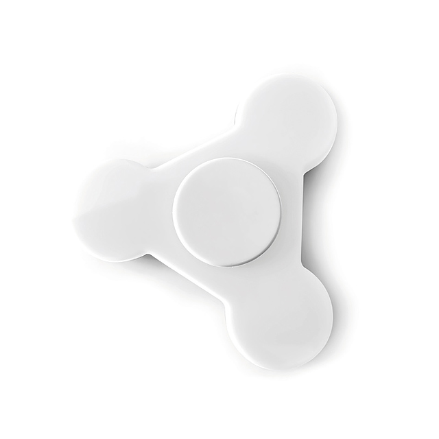 Plastic Spinner  - white