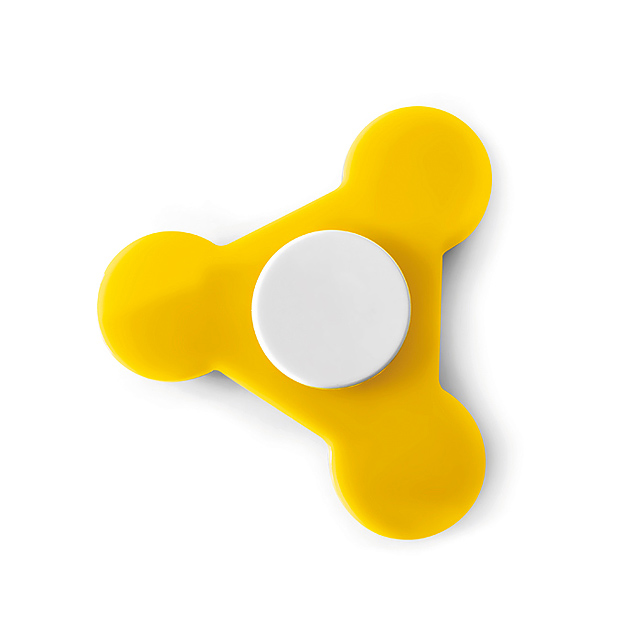 Plastic Spinner  - yellow