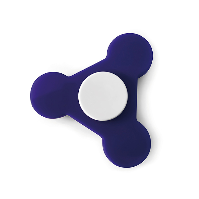 Plastic Spinner  - royal blue