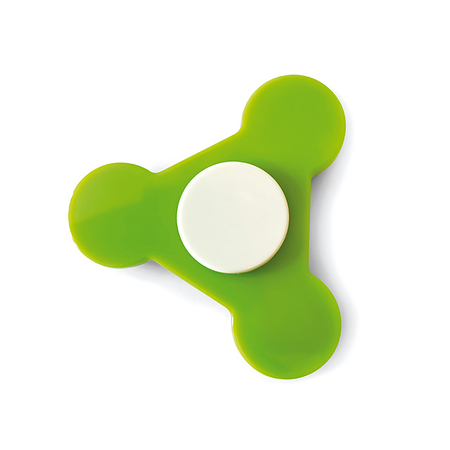 Plastic Spinner  - lime