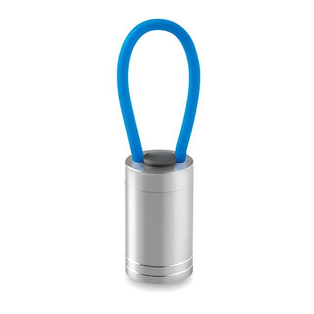 Hliníková baterka - GLOW TORCH - tyrkysová