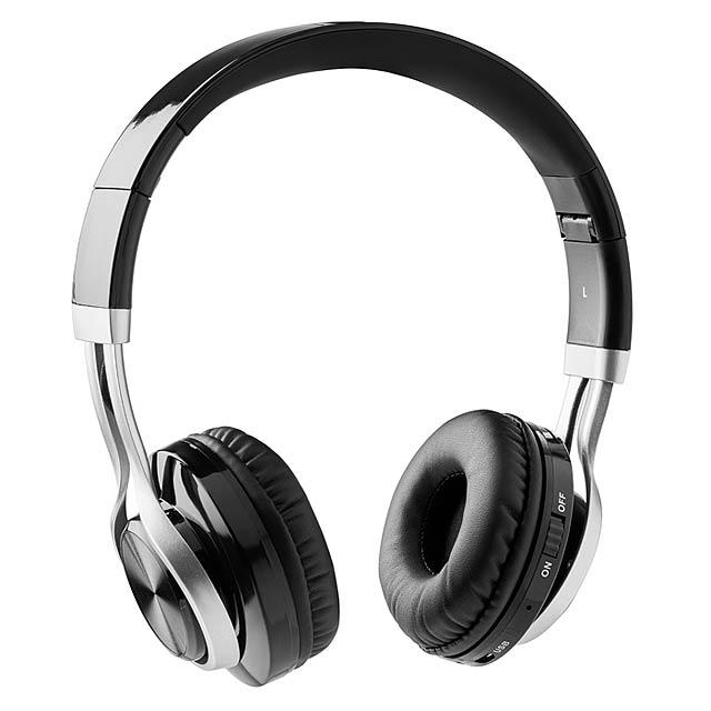 Bluetooth sluchátka - New Orleans - černá