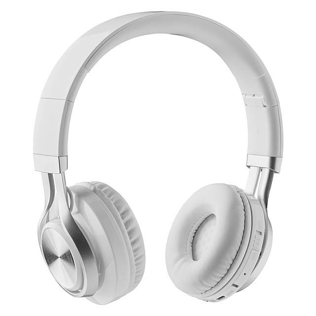 Bluetooth sluchátka - New Orleans - bílá