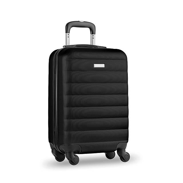 Skořepinový kufr - Budapest - černá