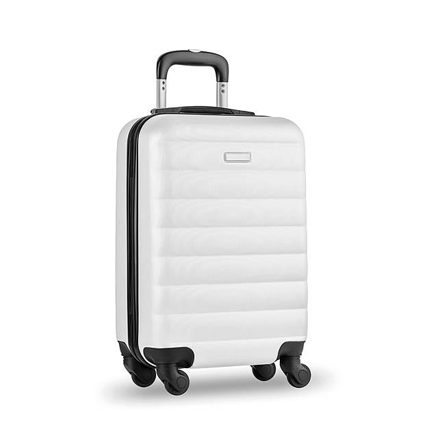 Skořepinový kufr - Budapest - bílá