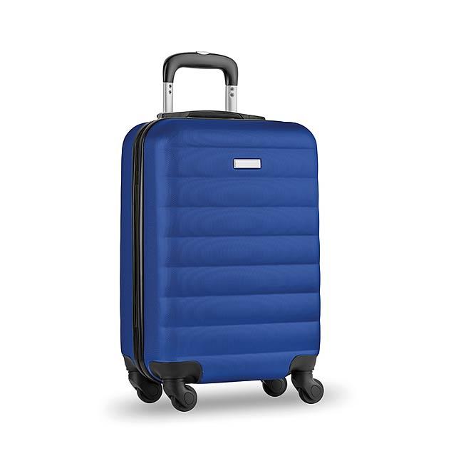 Skořepinový kufr - Budapest - královsky modrá