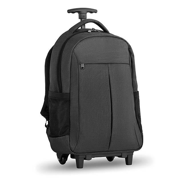 Kombi kufr-batoh na kolečkách - Stockholm Trolley - šedá
