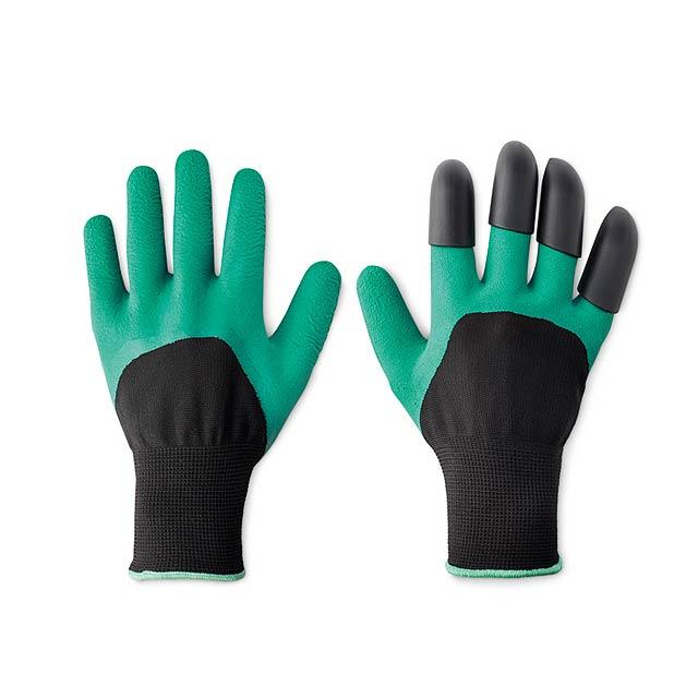 Set zahradních rukavic - Draculo - zelená