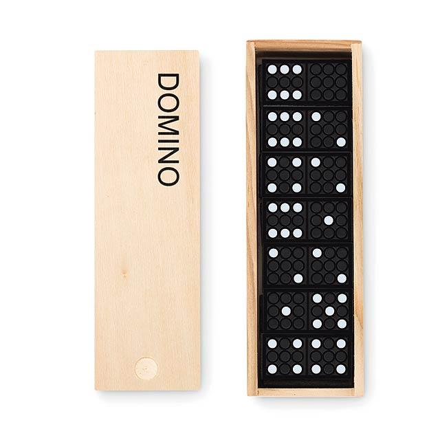 Domino - Domino - dřevo