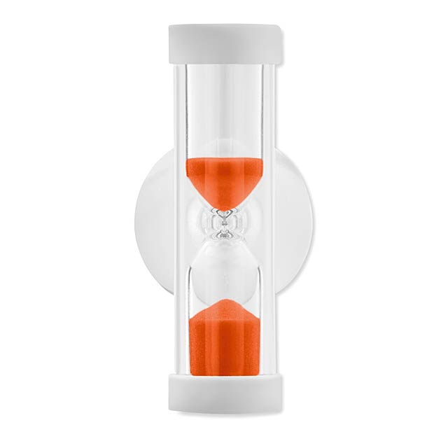 Přesýpací hodiny do sprchy - 2 Min - oranžová