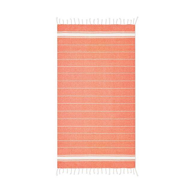 Plážový ručník - Malibu - oranžová