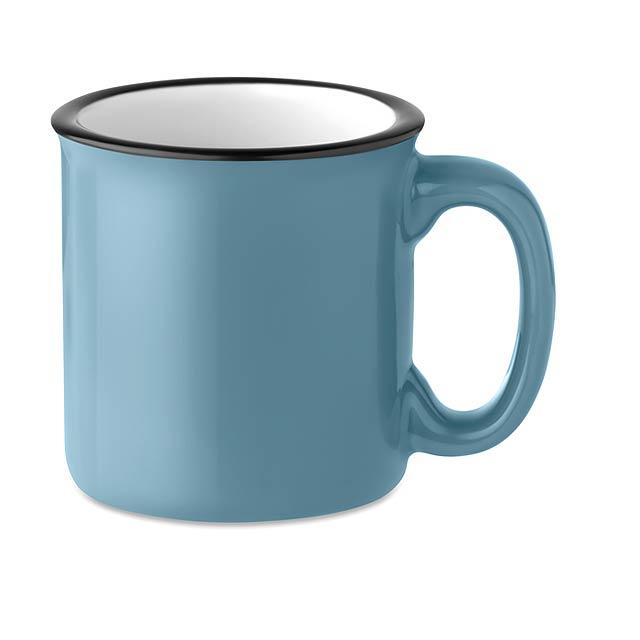 Keramický vintage hrnek - Tweenies - modrá