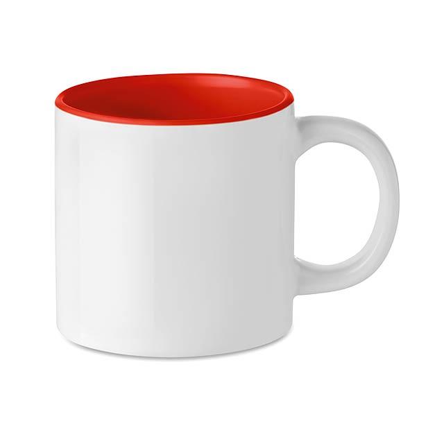Malý hrnek pro sublimaci - Mini Sublim - červená