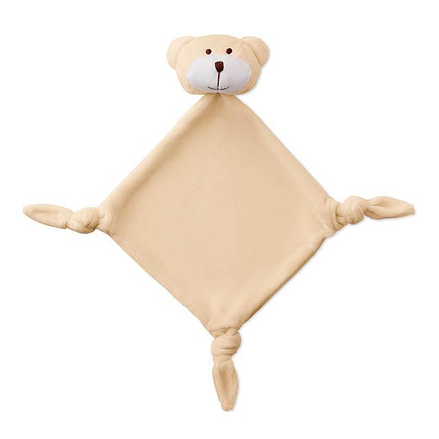 Plyšák - ručník - Lullaby - béžová