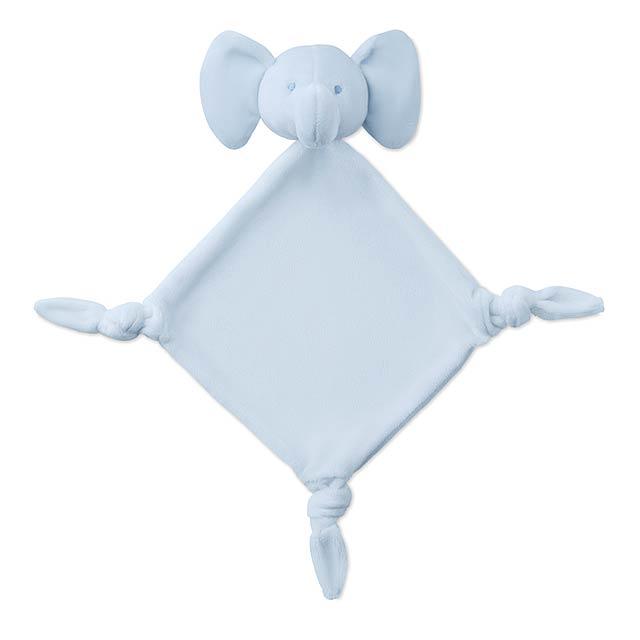 Plyšák - ručník - Lullaby - nebesky modrá
