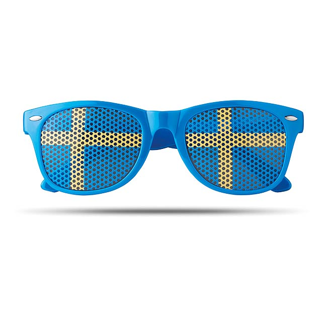 Sluneční brýle s vlajkami - Flag Fun - modrá