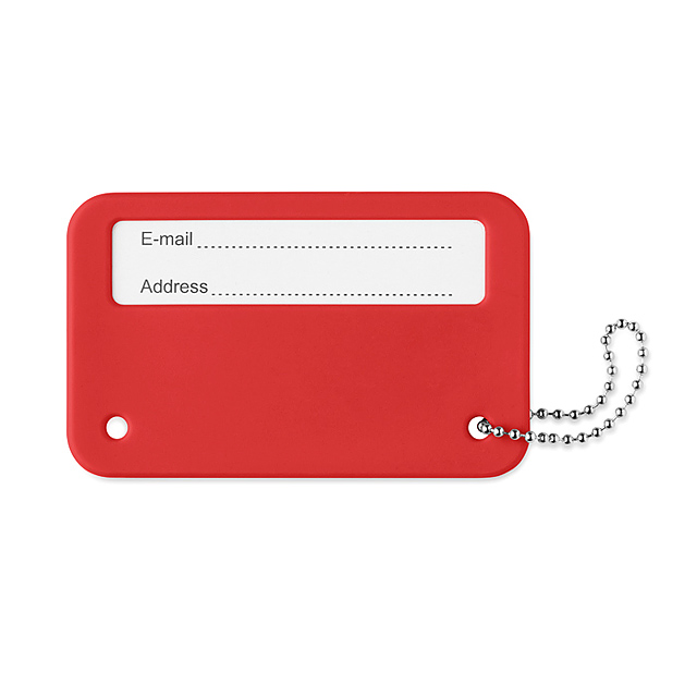 Luggage tag - MO9284-05 - red
