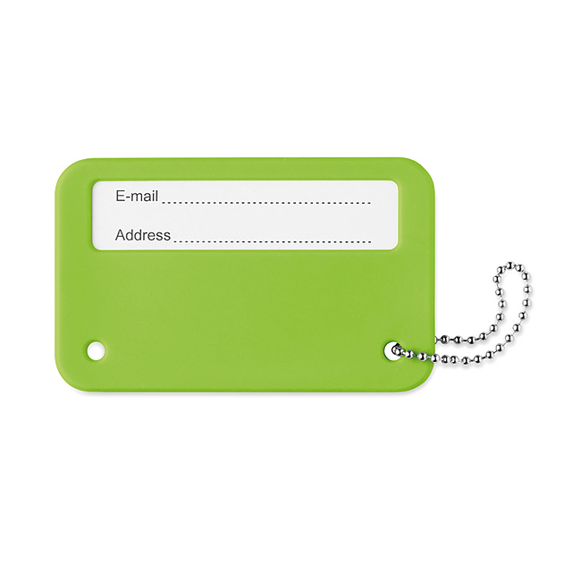 Luggage tag - MO9284-48 - lime