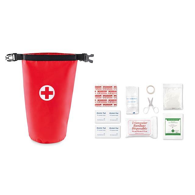 Krabička první pomoci - Superbag - červená