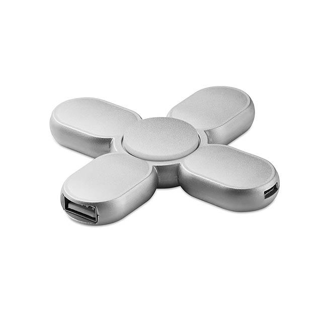HUB spinner - Spinner Hub - stříbrná