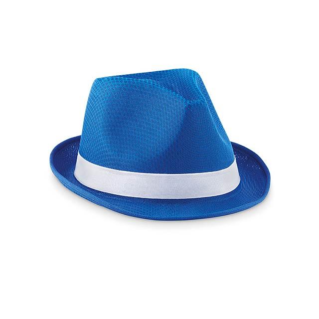 Barevný klobouk - Woogie - královsky modrá