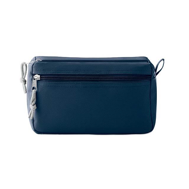 NEW & SMART - Kosmetická taštička bez PVC    - modrá