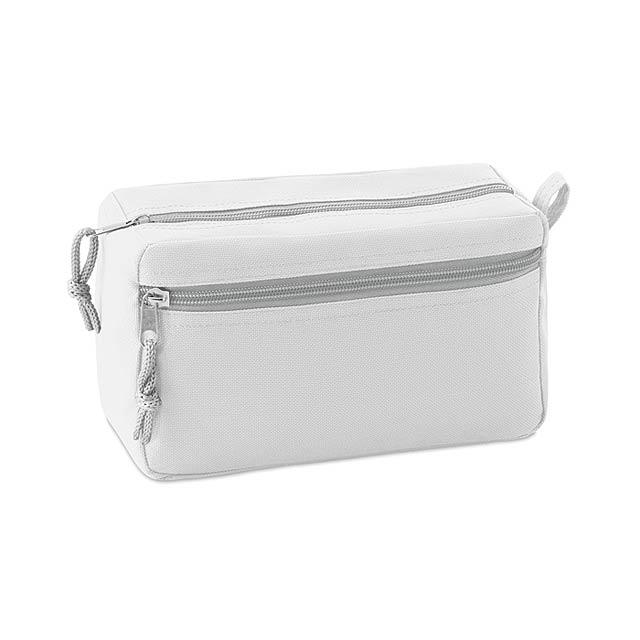 Kosmetická taštička bez PVC - New & Smart - bílá