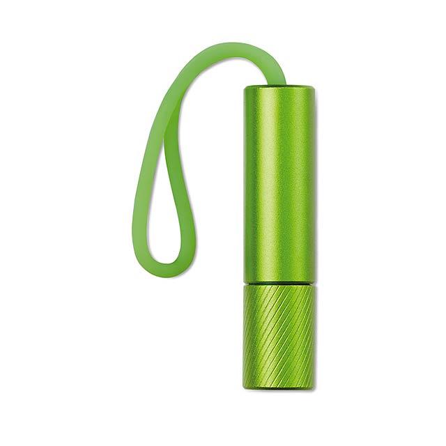 Svítilna se svítící smyčkou - Mini Glow - zelená