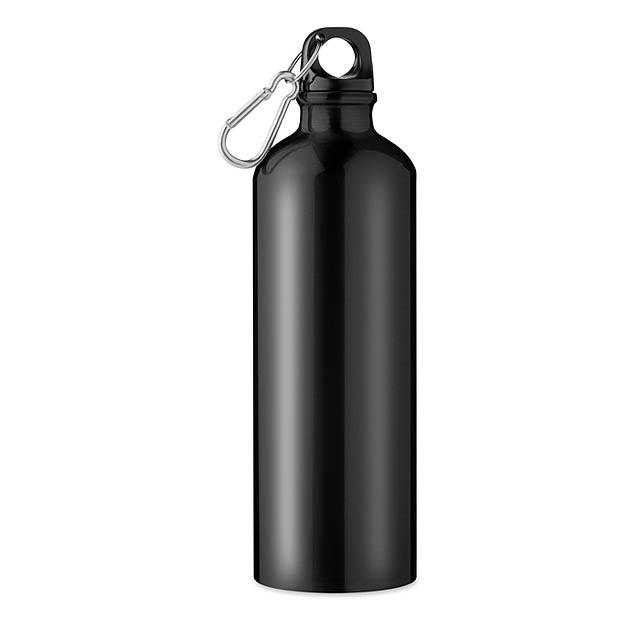 Hliníková láhev 750 ml - Big Moss - černá