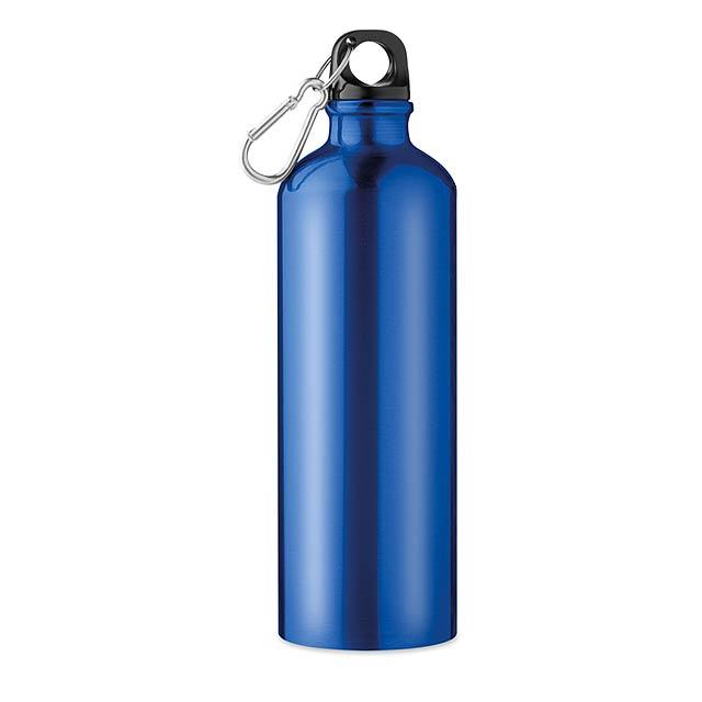 Hliníková láhev 750 ml - Big Moss - modrá