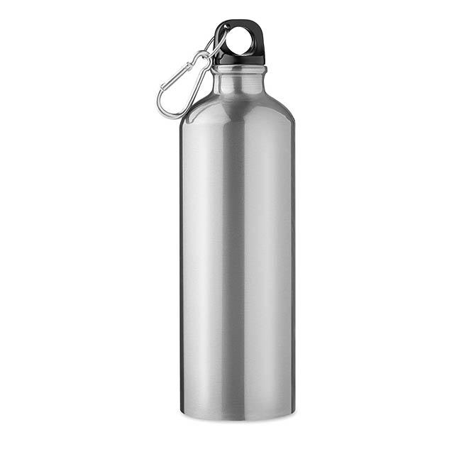 Hliníková láhev 750 ml - Big Moss - stříbrná mat