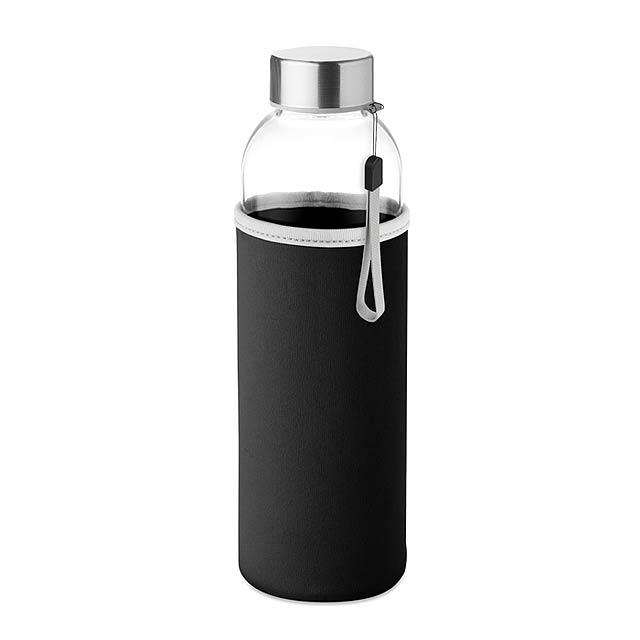 Skleněná láhev 500 ml - UTAH GLASS - černá