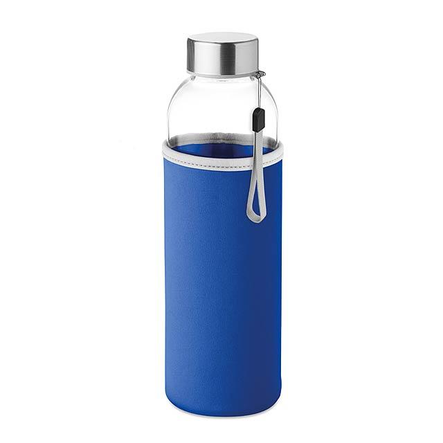Skleněná láhev 500 ml - UTAH GLASS - královsky modrá