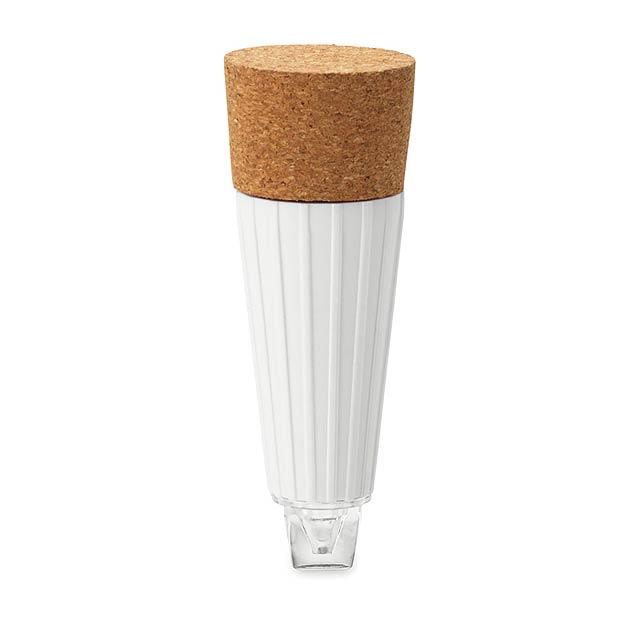LED zátka - CAPLIGHT - bílá