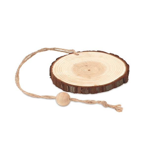Holzrunder Kleiderbügel MO9408-40 - Holz