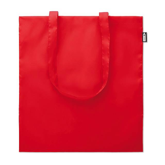 Nákupní taška ze 100gr RPET - TOTEPET - červená