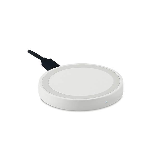 Bezdrátová nabíječka - WIRELESS PLATO - bílá
