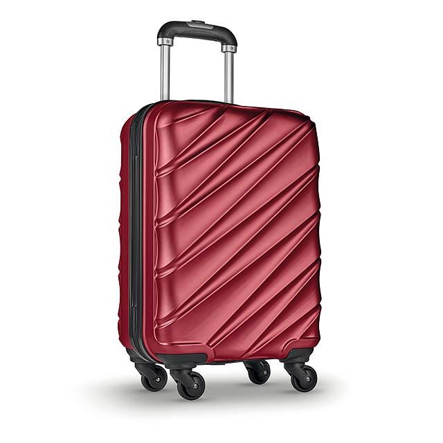 DUBAI - Kufr na kolečkách              - červená