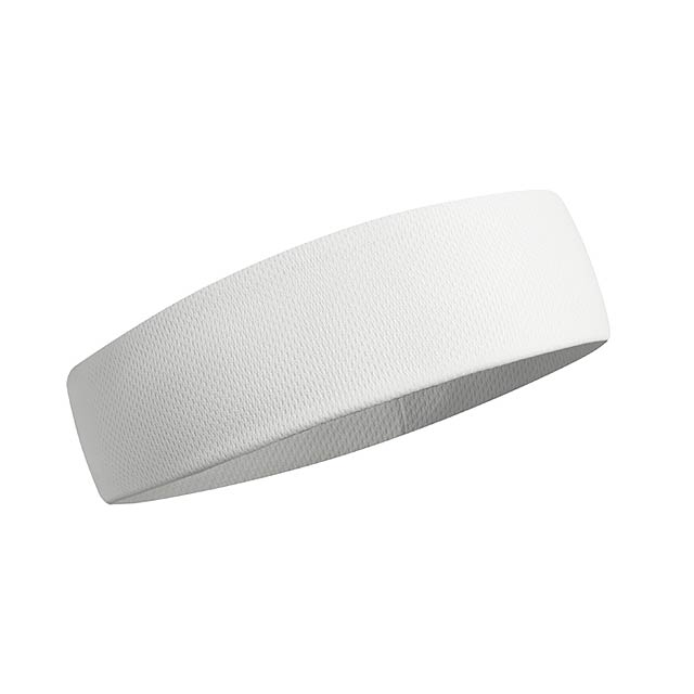 SPORTCOOL - Chladící čelenka               - bílá