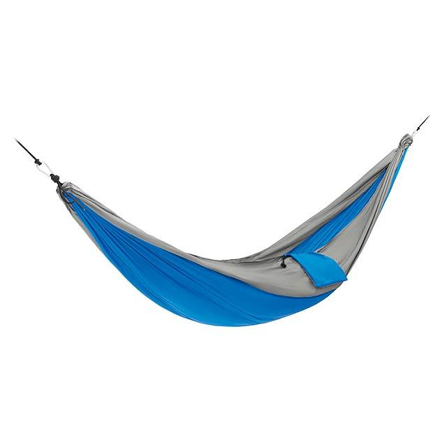 JUNGLE - Lehký skládací hammok          - královsky modrá