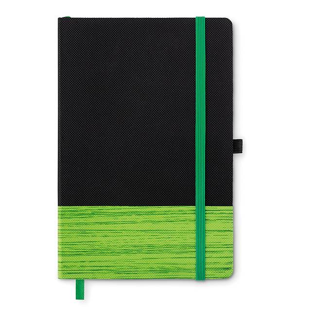 CONGO - Zápisník, 80 stran, linky      - citrónová - limetková