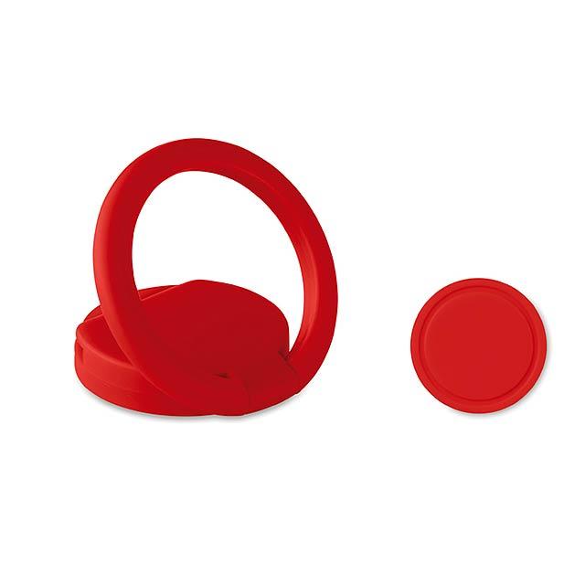 RING - Držák na telefon               - červená