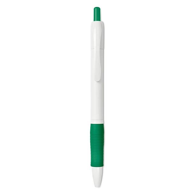 MANORS WHITE - Kuličkové pero                 - zelená