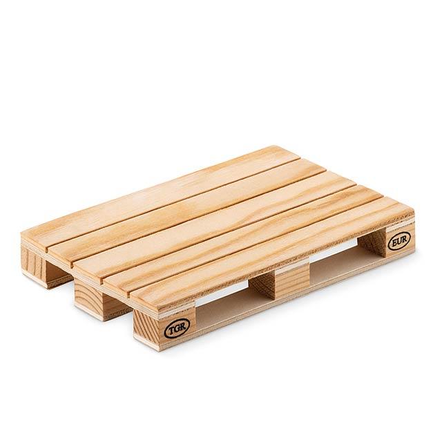 PALY - Dřevěný podtácek               - dřevo