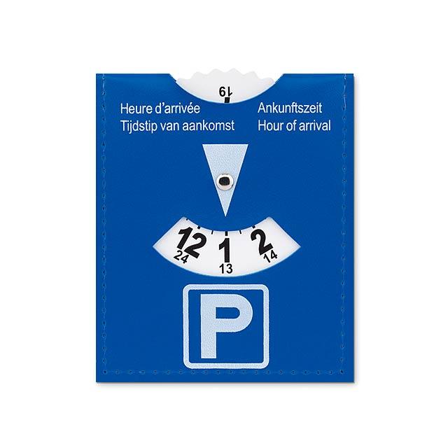 PARKCARD - Parkovací karta                - modrá