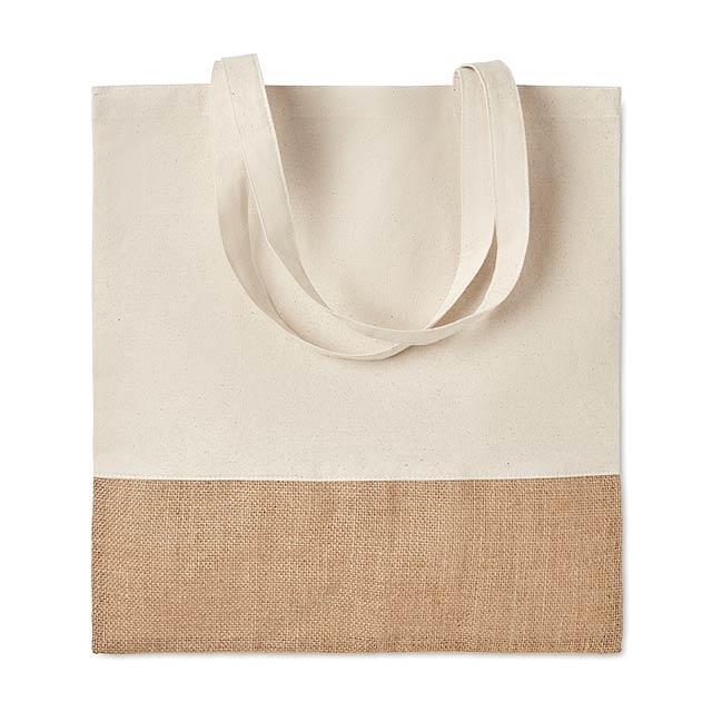 INDIA TOTE - Nákupní taška                  - béžová