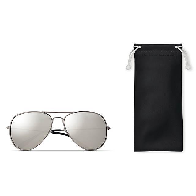 MALIBU - Sluneční brýle                 - černá