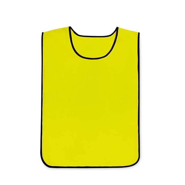 PLAY VEST - Sportovní vesta                - žlutá