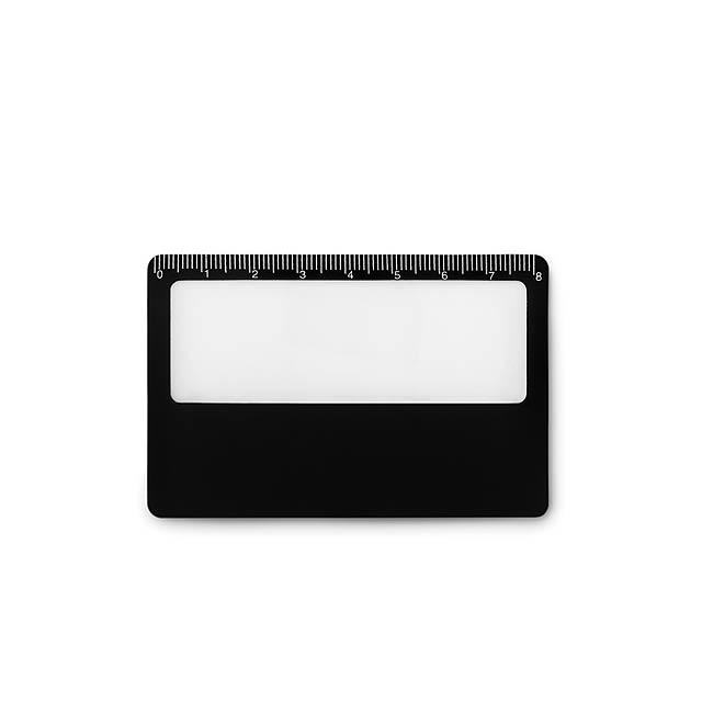LUPA - Pouzdro na kartu               - černá